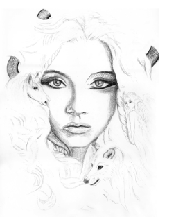 """""""Ein etwas anderes Mädchen"""" von Zondra Aceman"""