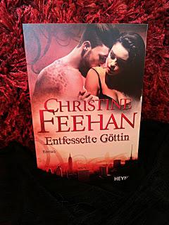 """""""Entfesselte Göttin"""" von Christine Feehan"""