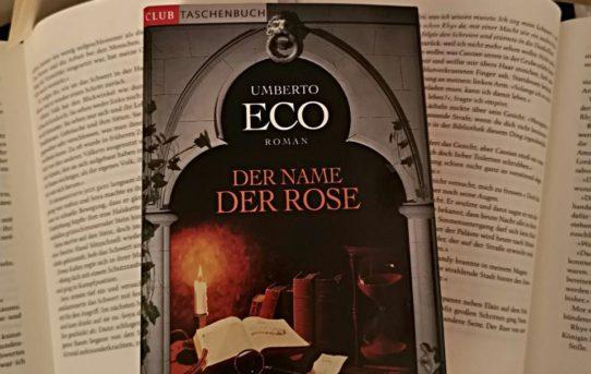 """""""Der Name der Rose"""" von Umberto Eco"""